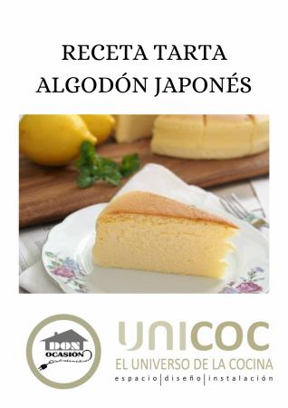 RECETA DE TARTA ALGODÓN JAPONÉS