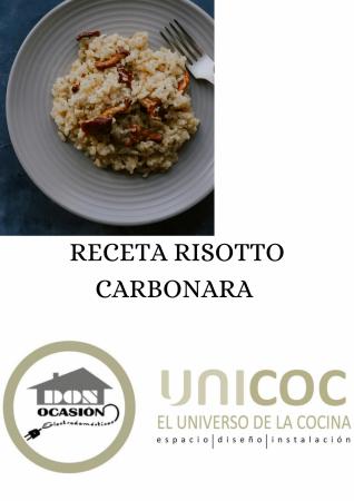 RECETA RISOTTO CARBONARA