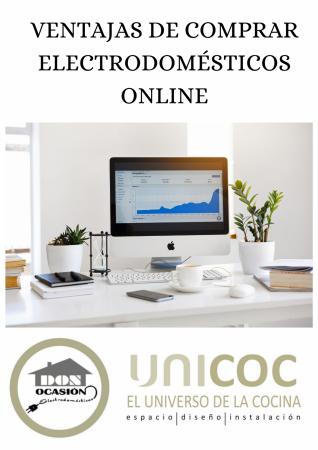VENTAJAS DE COMPRAR ELECTRODOMÉSTICOS ONLINE